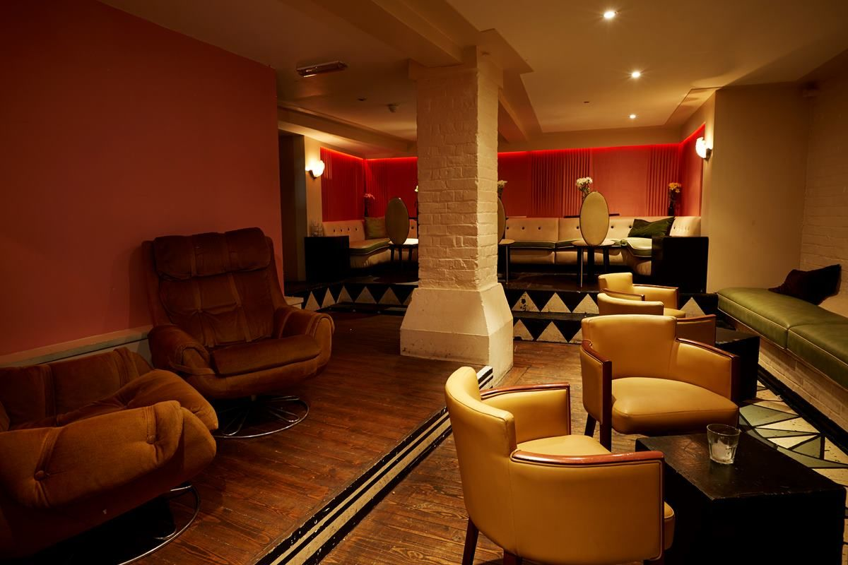The deco lounge events hire the big chill house nice things