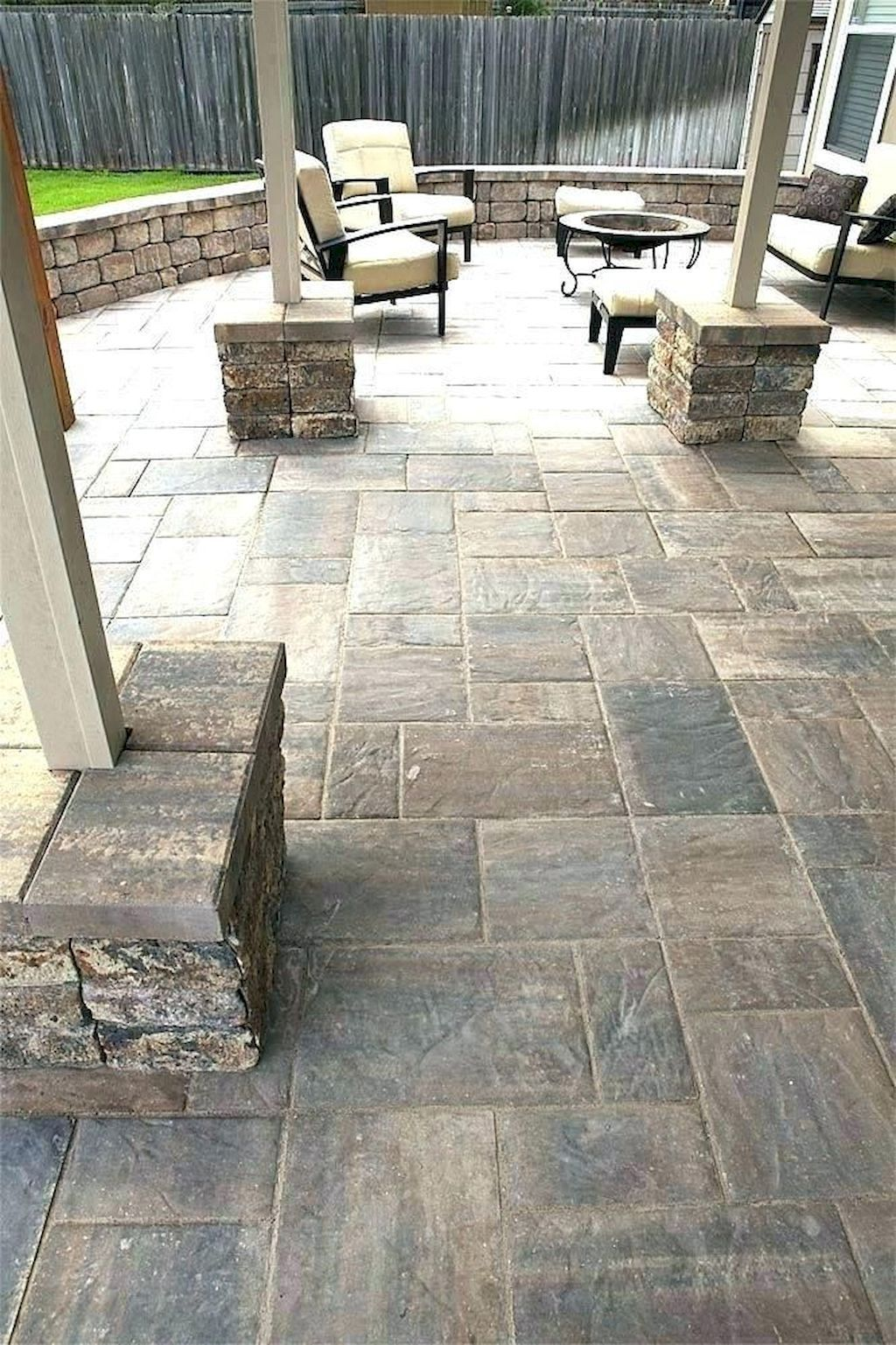 Stunning Backyard Patio And Deck Design Ideas 30 Homeideas Co Patio Tiles Outdoor Patio Decor Patio Pavers Design