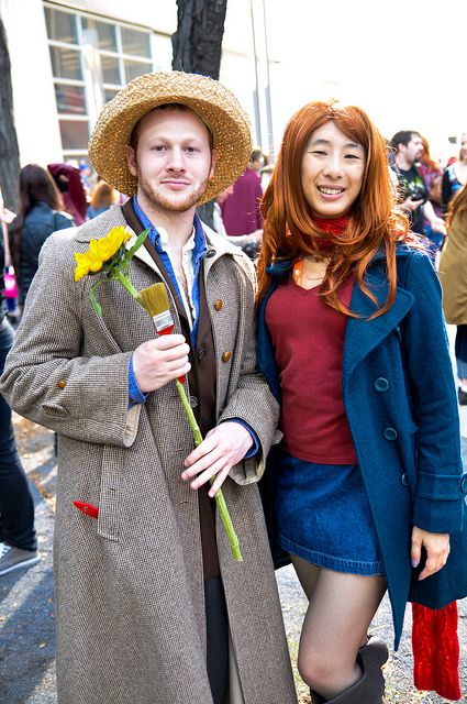 Amy Pond and Vincent- Doctor Who Meetup at NYCC by AaronBerkovich, via Flickr