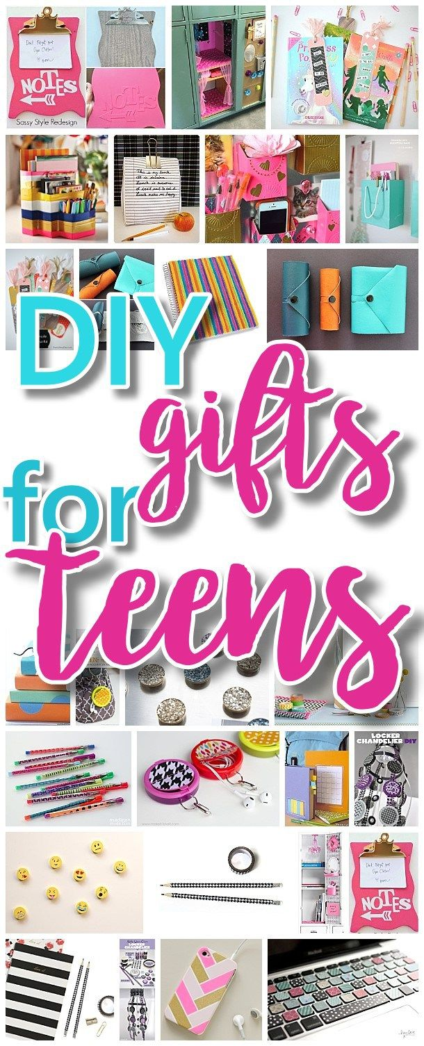 The BEST DIY Gifts for Teens, Tweens and Best Friends – Easy, Unique ...