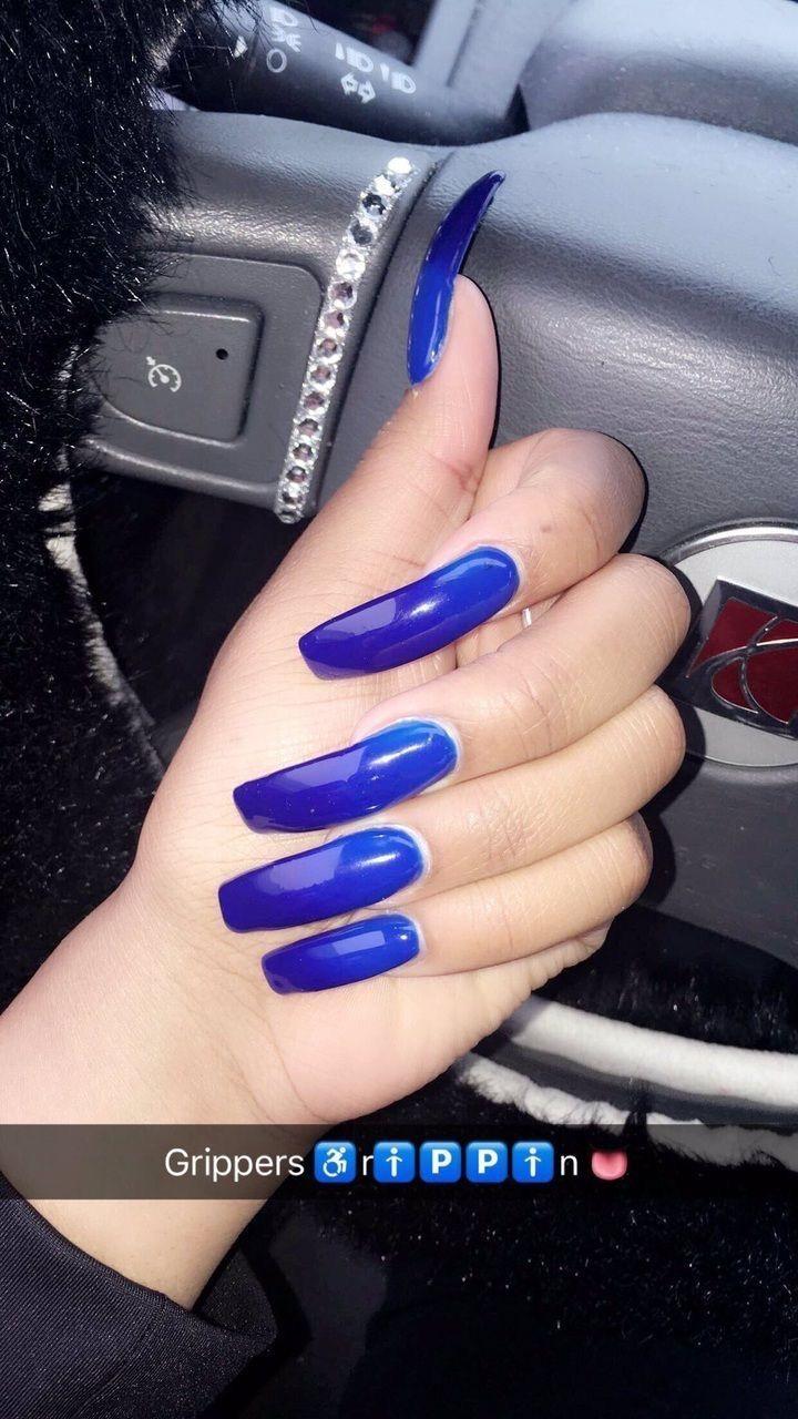 B A R B I E Doll Gang Hoe Pinterest Jussthatbitxh Download The App Mercari Use My Code Uznpku To Sign Up Y Long Acrylic Nails Blue Acrylic Nails Nails