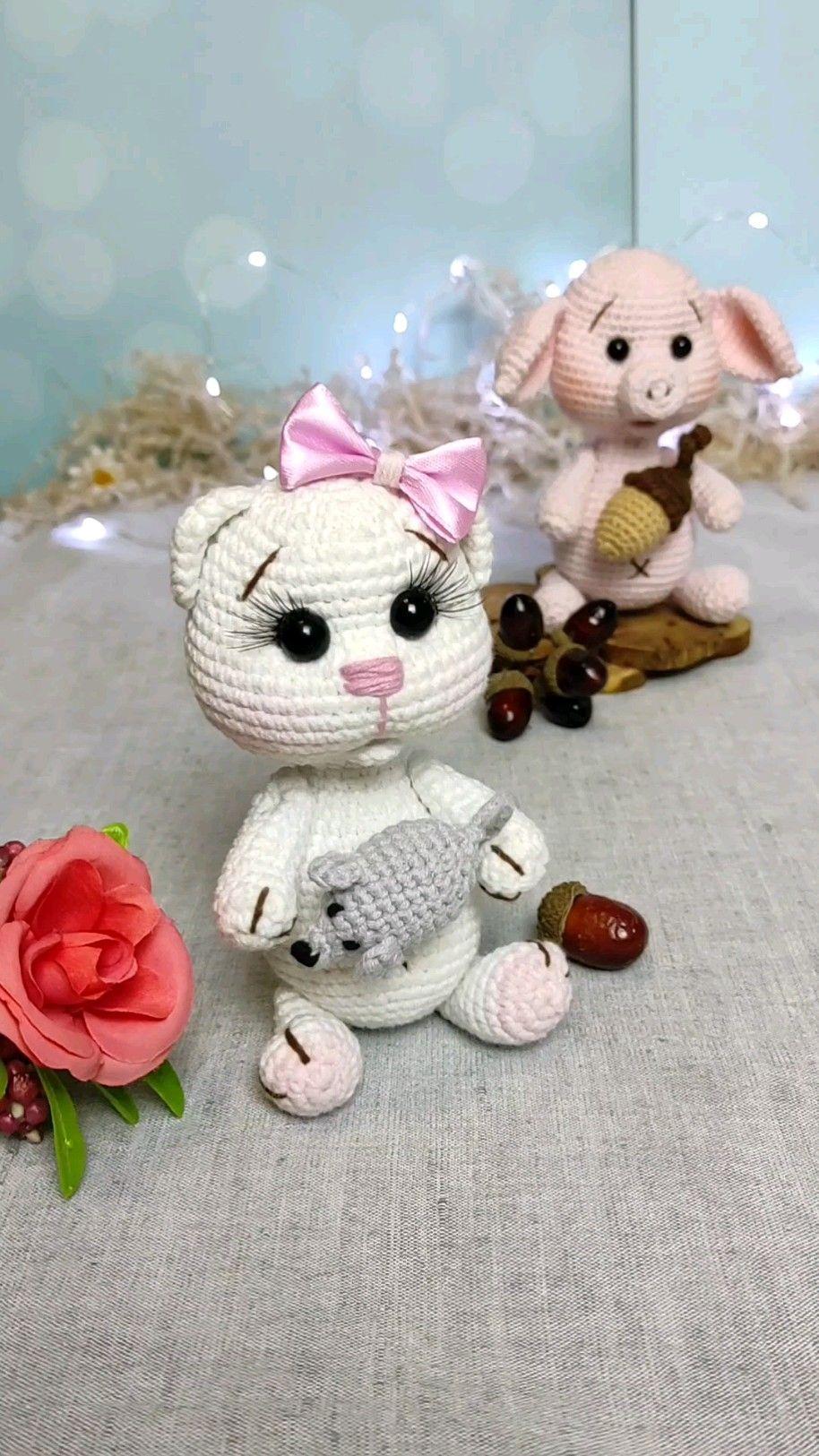 amigurumi pets crochet pattern