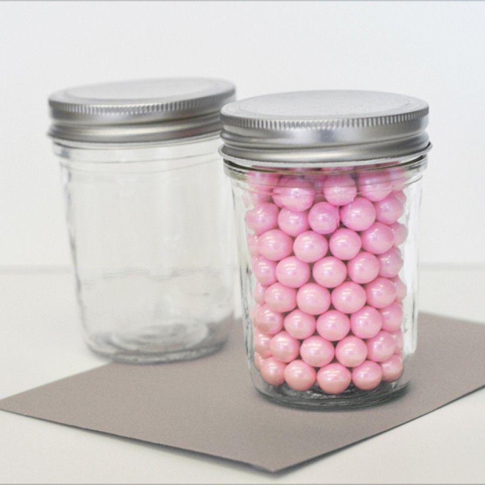 Mini Glass Mason Jar Favors - DIY Collection [EB2310NP Glass Mason ...
