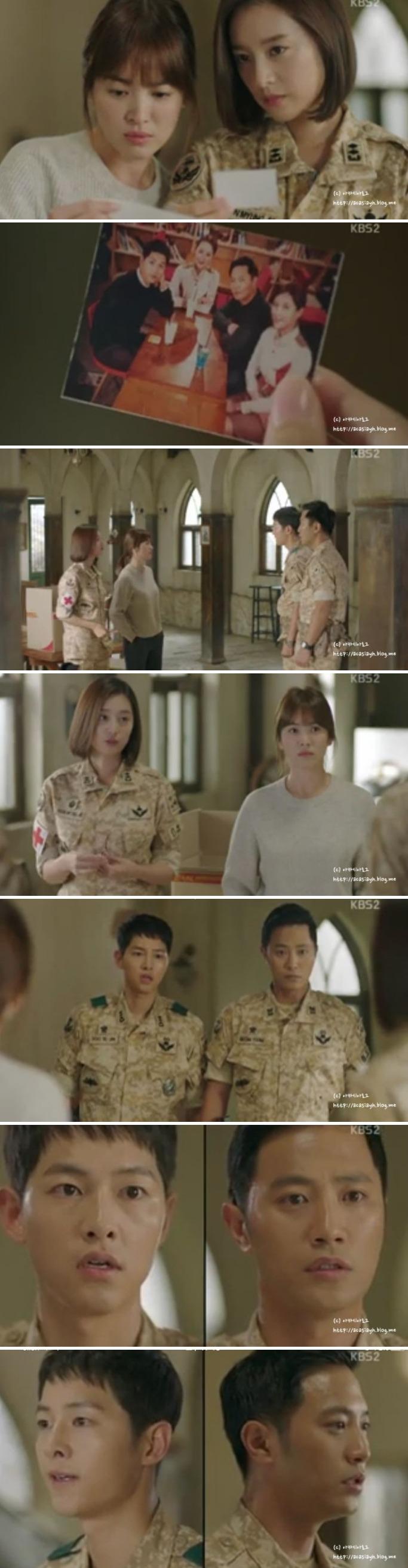 Descendants of the Sun (태양의 후예) Korean - Drama - Episode 10 - Picture @ HanCinema :: The Korean Movie and Drama Database