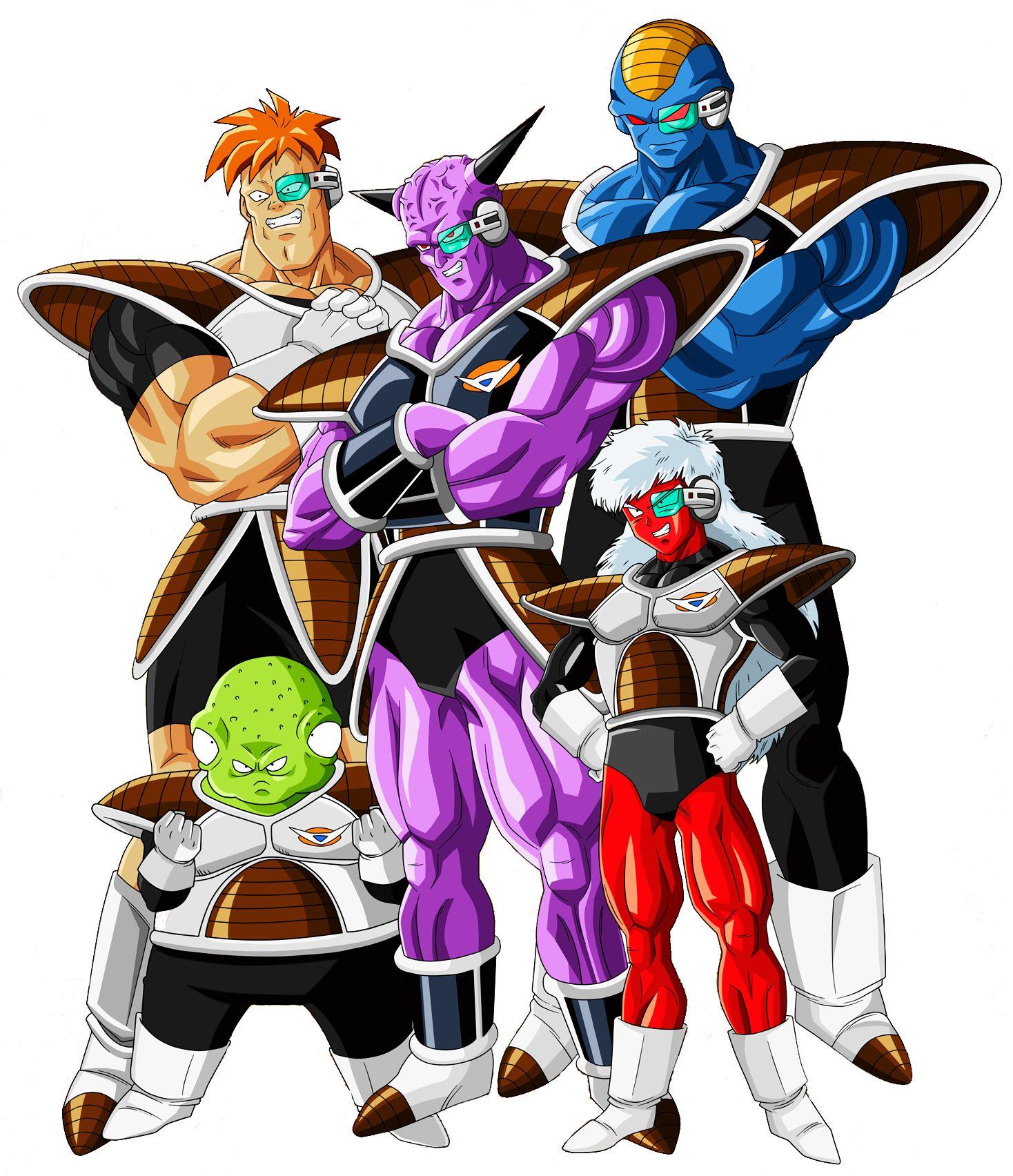 Fuerzas Especiales Guiniu Personajes De Dragon Ball Personajes De Goku Fuerzas Especiales Ginyu