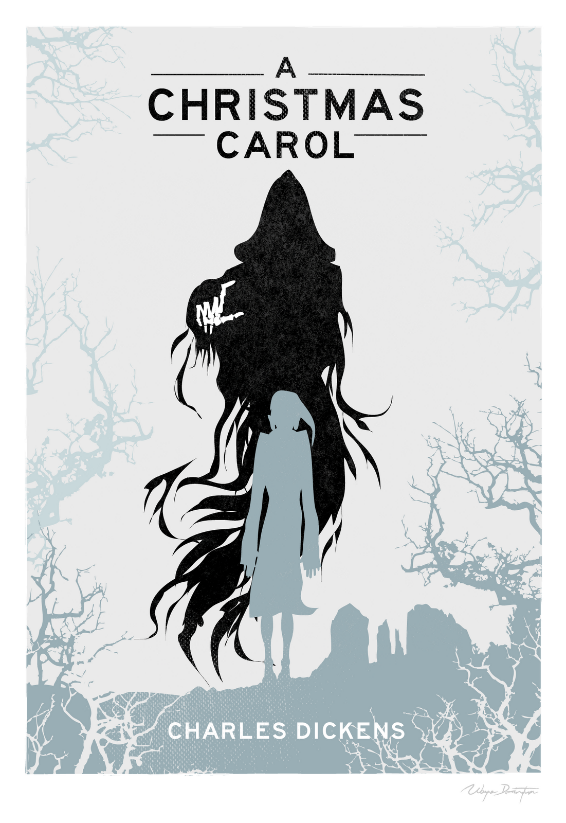 A Christmas Carol Book Cover.For It Is Good To Be Children Sometimes And Never Better