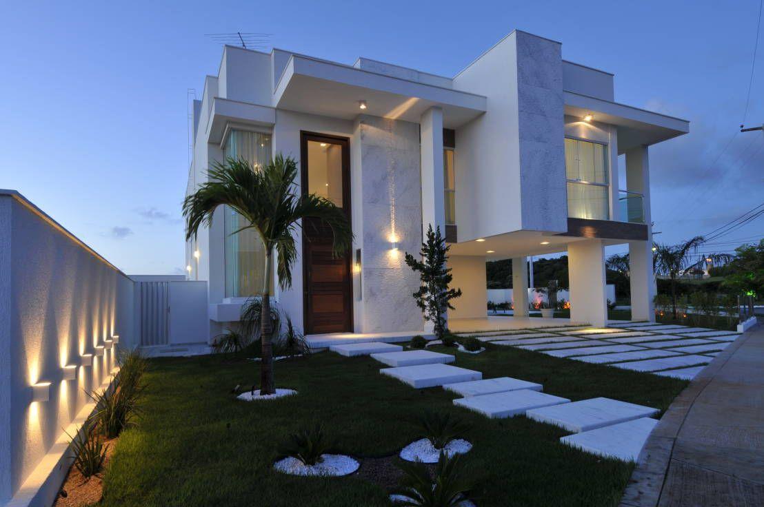 Una casa contemporánea ¡y divina! Fachadas de casas