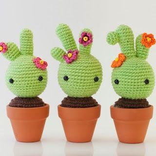 cosicasraquel: Cactus de Crochet - Tres Patrones Gratuitos !!!   320x320