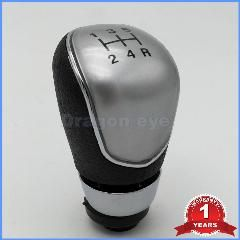 Manual Stick Shift Knob Gear Shift Knob Cap Fit for Ford Fiesta Focus Gear Shift Knob Cover 5-Speed Gear Knob Cap 5 Speed Car Gear Knob Head Cap Cover