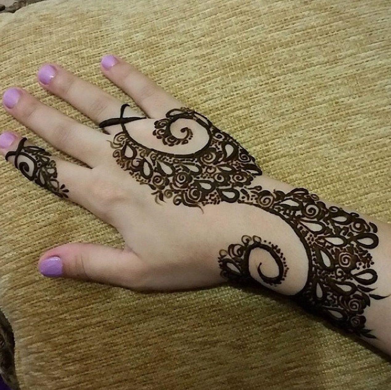 Pin By Noura H H On Hena Hand Henna Henna Hand Tattoo Hand Tattoos