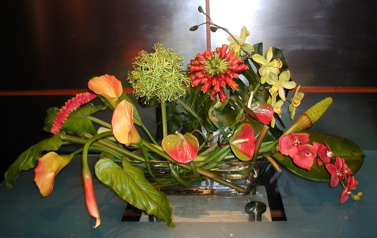 The Fox Club Tampa F Large Silk Floral Arrangements Pinterest