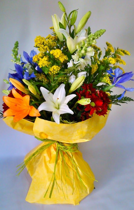 M s de 25 ideas incre bles sobre ramos de flores hermosas - Ramos de flores modernos ...
