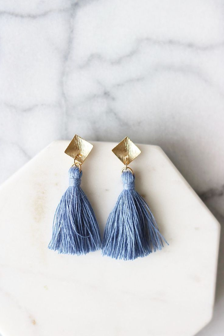 1442e9d83ee1 Amalfi Tassel Earrings Bisuteria Aretes