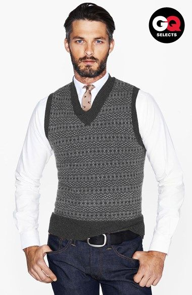 Todd Snyder Sweater Vest | Mens fashion sweaters, Gents