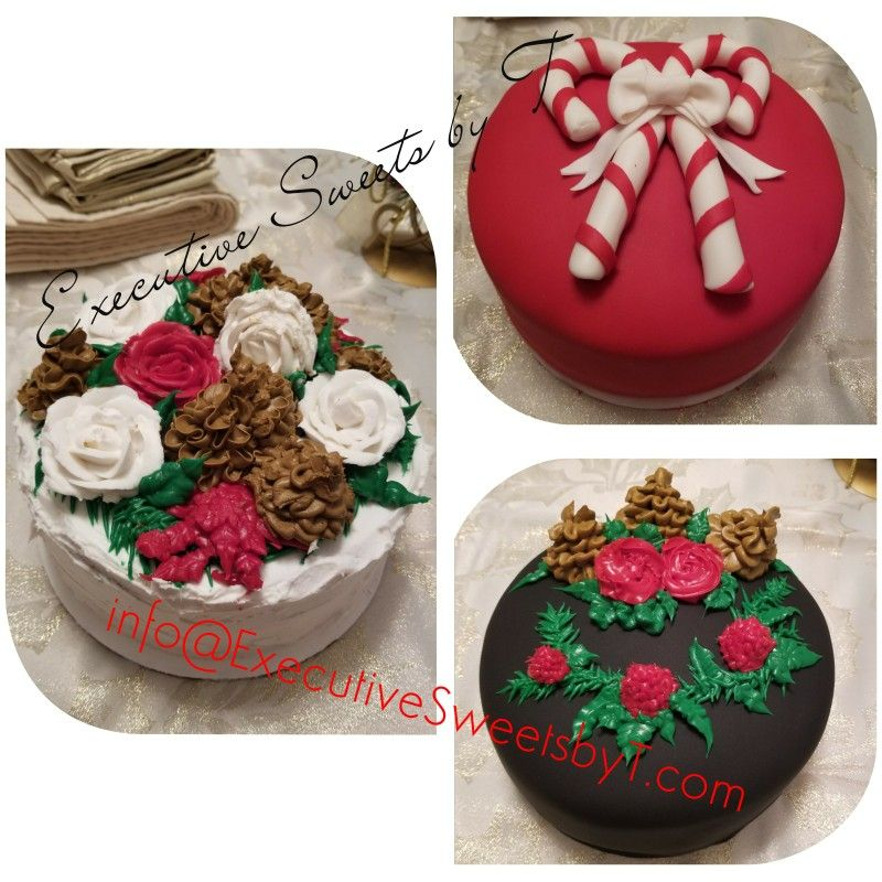 #executivesweetsbyt #Christmas #happyholidays #ponisetta #roses #candycane #holly #christmastree #christmasberries #snow #santa #snowman #snowflake #rudolph1 #tistheseason #santa #redvelvet #chocolate #vanilla