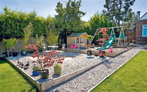 garden inspector how to create a low maintenance garden backyard play areasbackyard - Garden Ideas Play Area