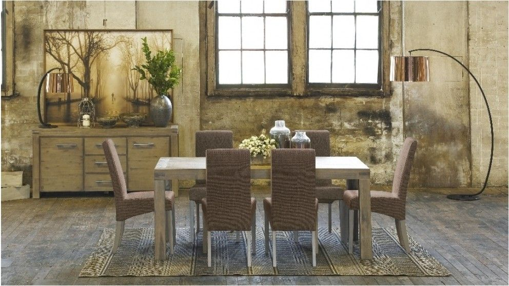 Emerson 7 piece dining setting dining furniture dining - Harvey norman living room furniture ...