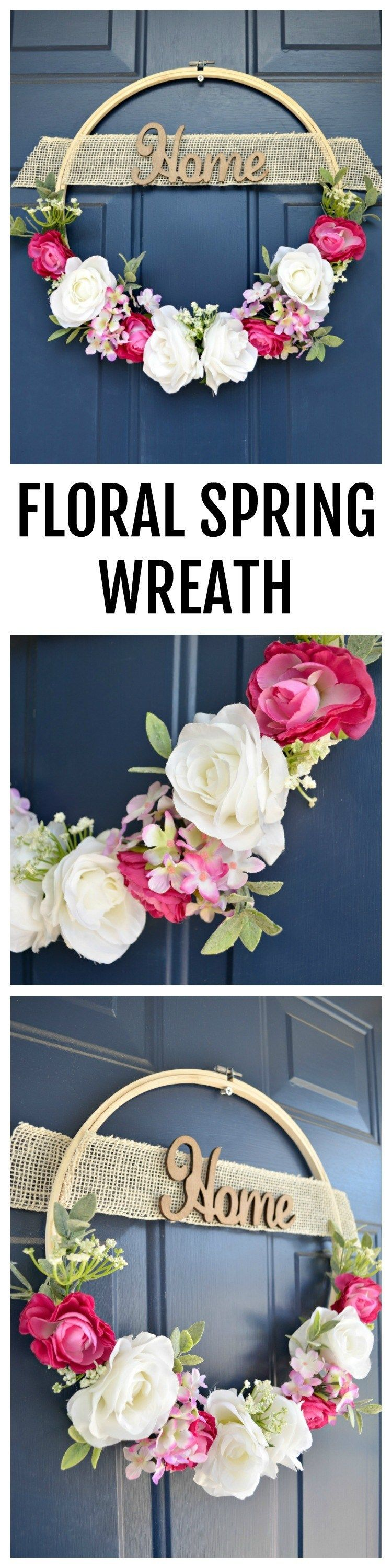 Info's : Floral Spring Wreath