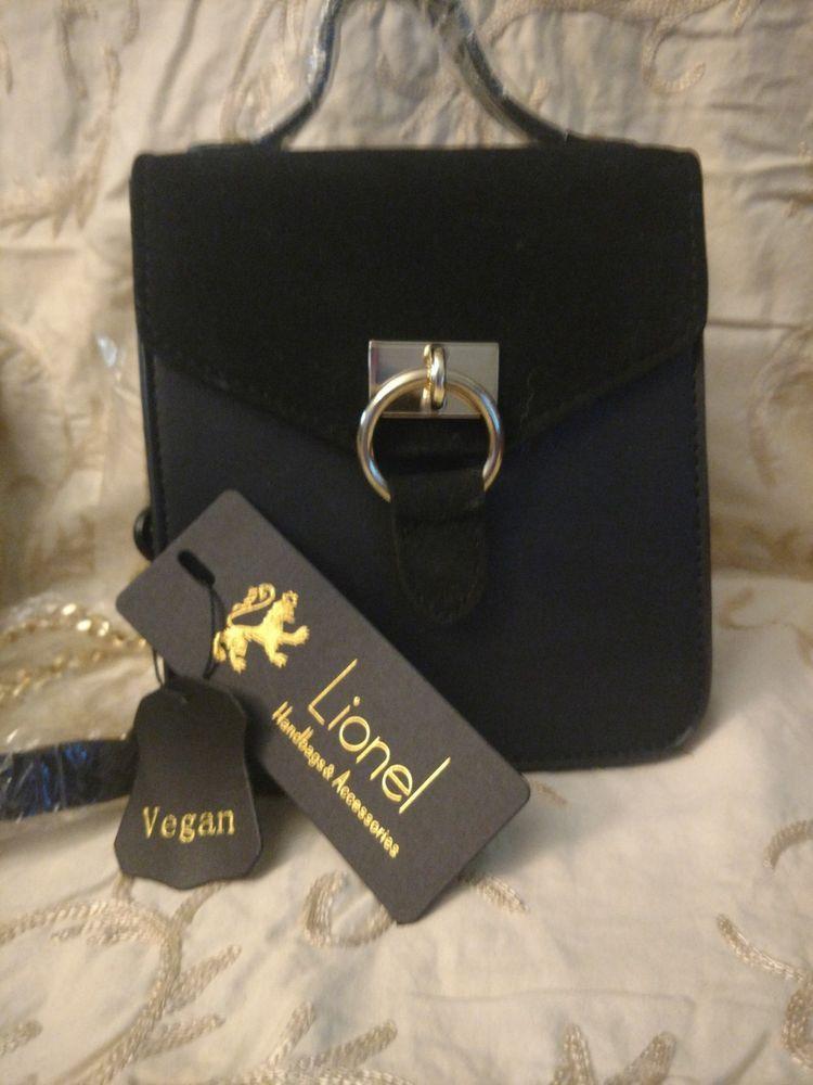 8abb0868f388 Lionel handbag- Keira black Vegan purse  fashion  clothing  shoes   accessories  womensbagshandbags  ad (ebay link)