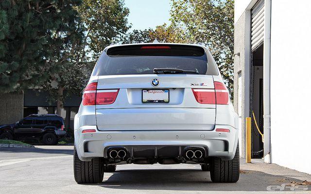 X5M with Vorsteiner Lip & Diffuser   BMW X5 / X5M of Neo