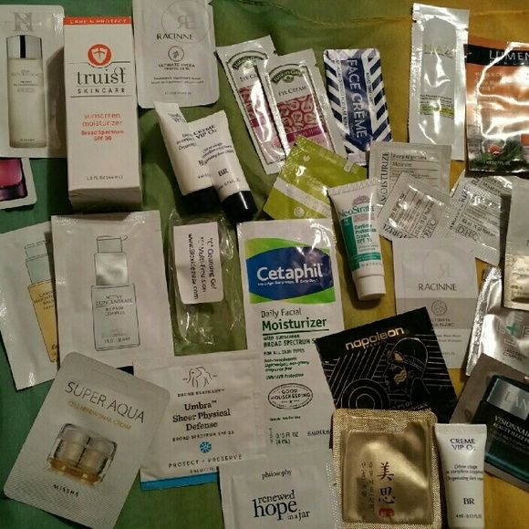33 pice skincare lot This lot includes many different moisturizers, lotions, creams, spf creams, etc. Other