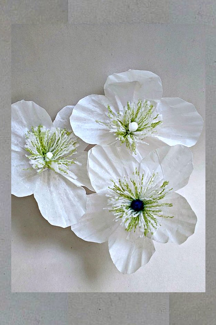 Leave Some Of The Cupcake Liners To Make Paper Flowers Simple And