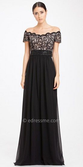 c158dabadfe3 Off Shoulder Lace Evening Gown by JS Boutique  edressme