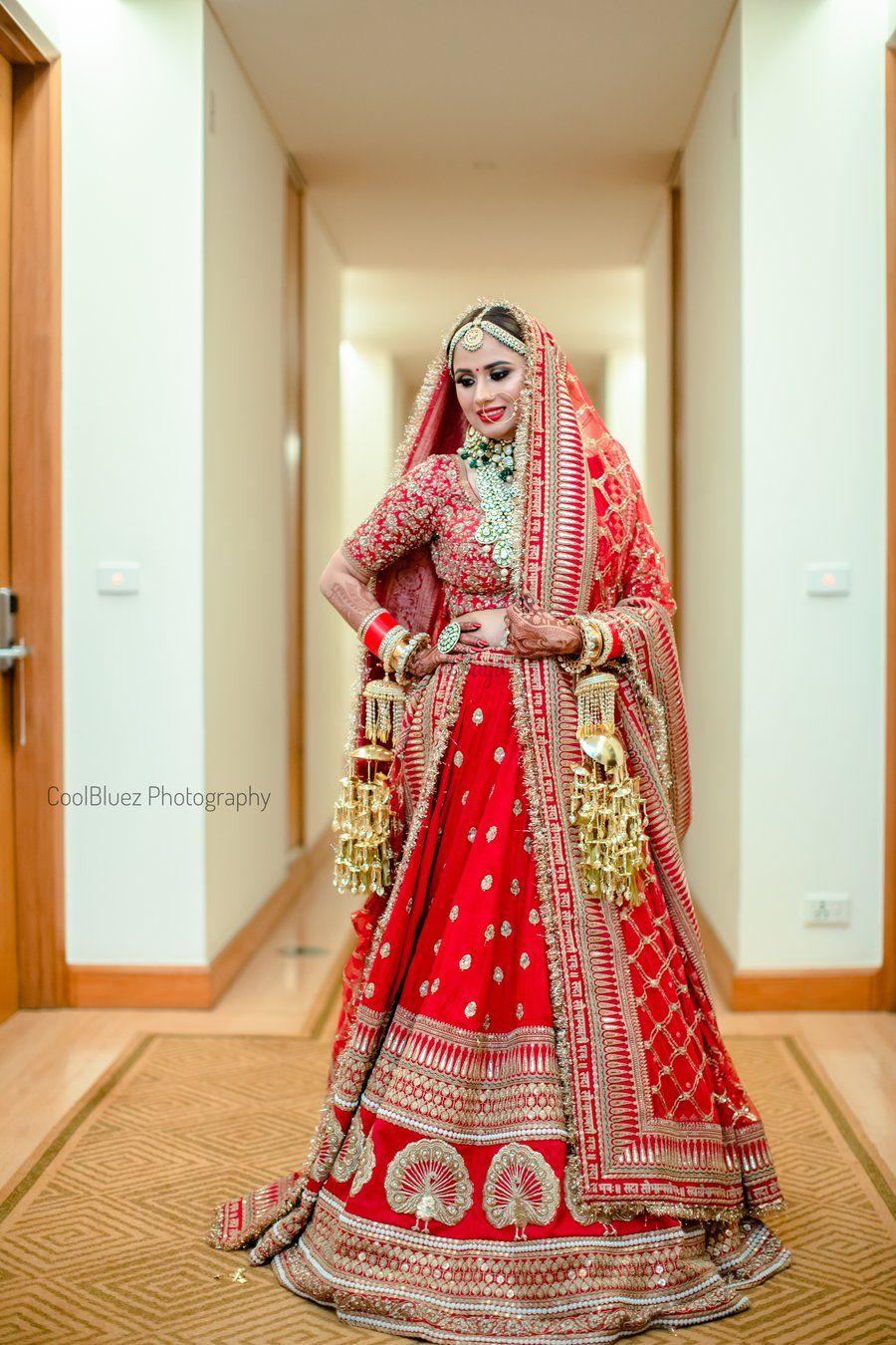 This Bride Wore 'Deepika waala Lehenga' with a Twist & We ...
