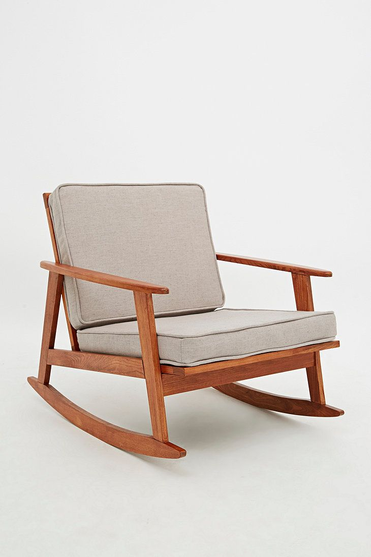 Danish Rocking Chair In Stone Mecedora In 2019 Rocking