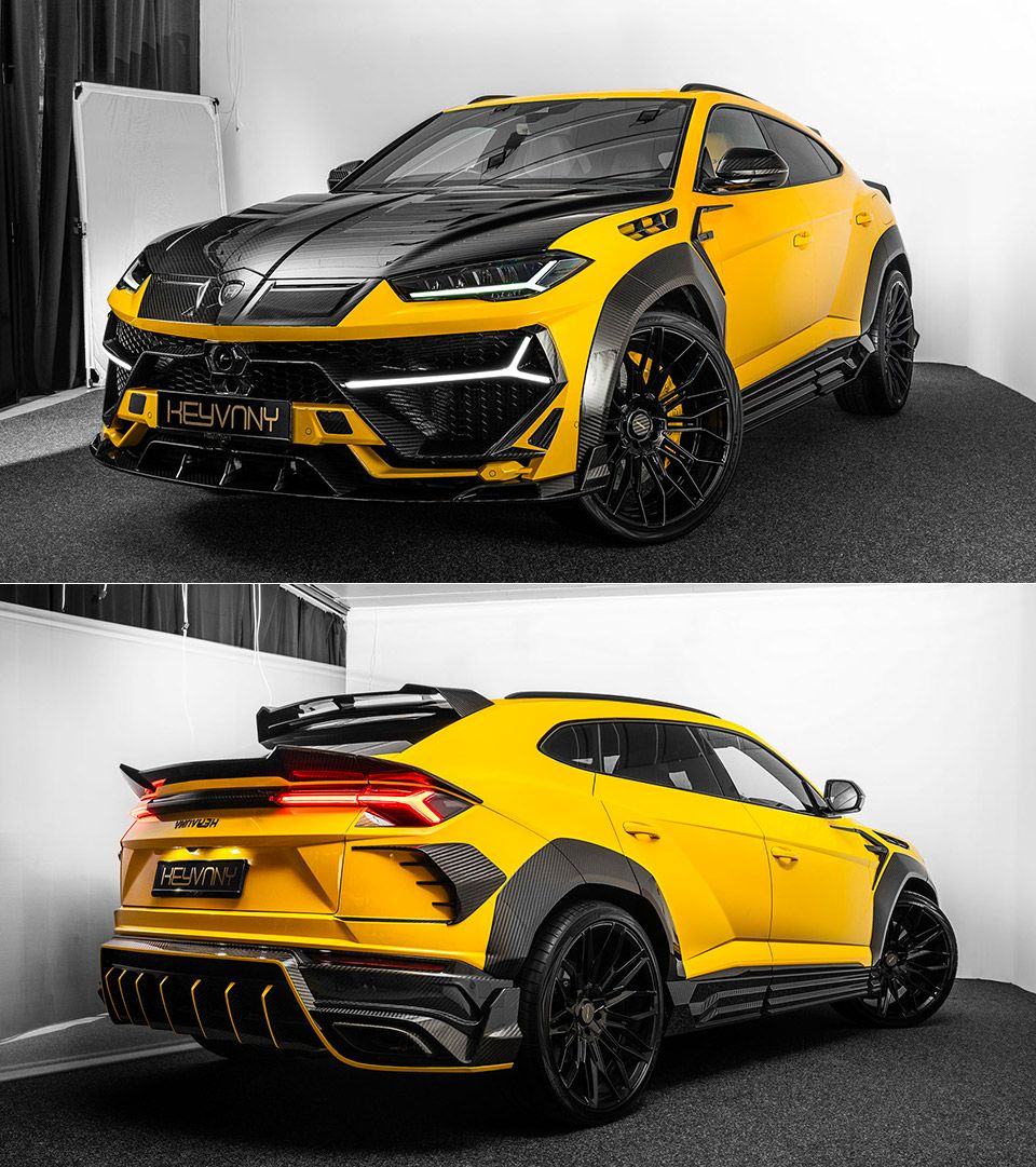 Tuning Shop Keyvany Wanted To Give The Lamborghini Urus A Little More Power Along With Some Carbon Fiber Piece In 2020 Sports Cars Luxury Lamborghini Cool Sports Cars