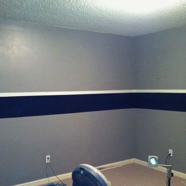dallas cowboys nursery pinterest  Got the walls done georgia