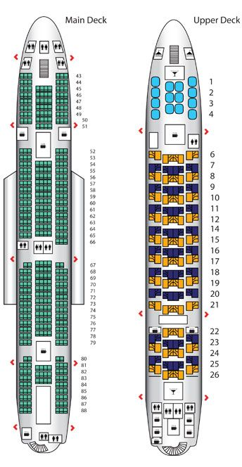 Emirates A380 Seat Map Emulate The Lower Deck In Seating