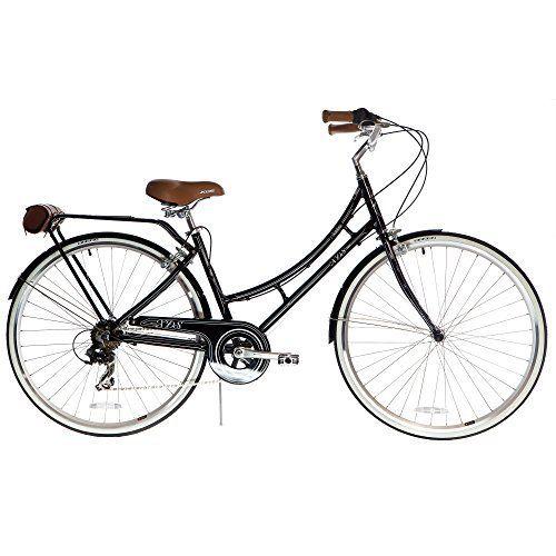 Xds Bikes Women S Nadine 7 Speed Aluminum City Bike Black City