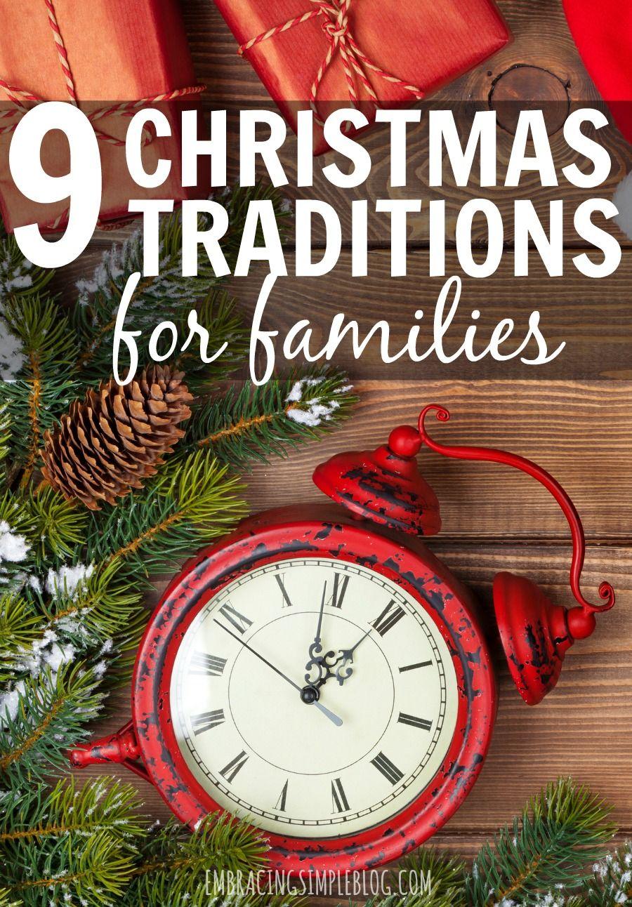 9 Fun Christmas Traditions for Families Christmas