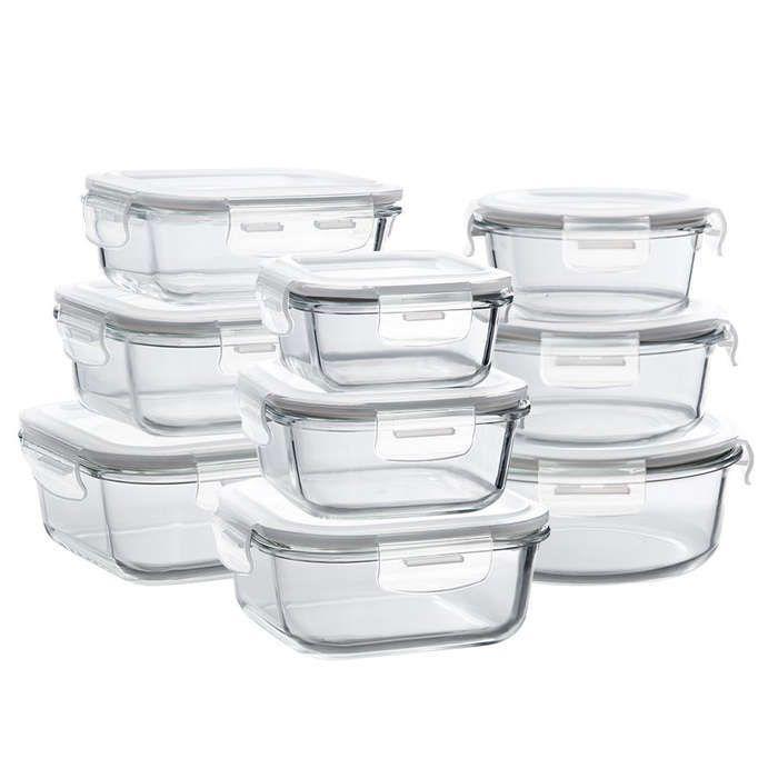 10 best kitchen essentials glass food storage containers glass storage containers glass food on outdoor kitchen essentials id=55751