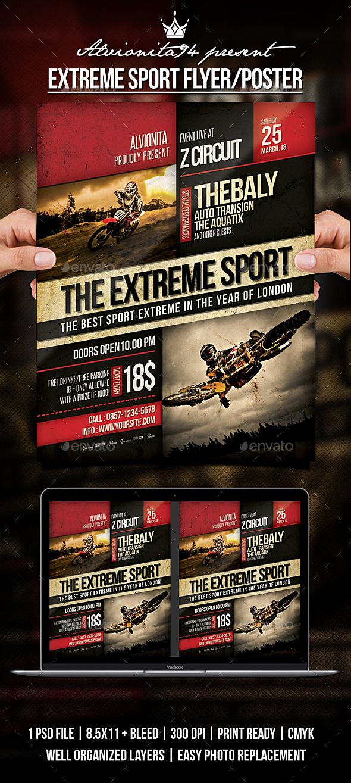 Extreme Sport Flyer / Poster | Pinterest