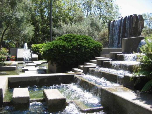 Lawrence halprin fountain at levi 39 s plaza san francisco for San francisco landscape architecture