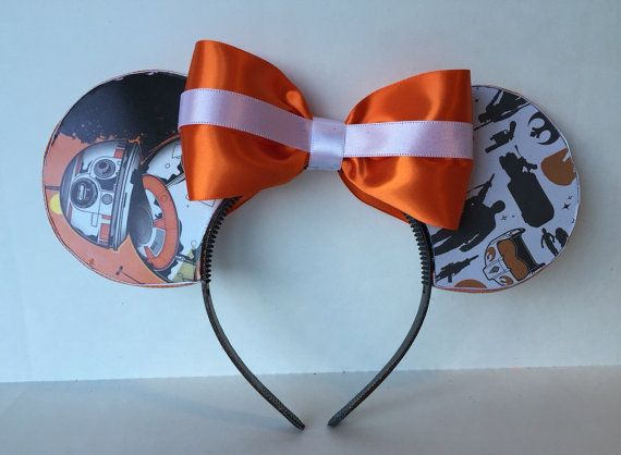BB-8 inspired Mickey Mouse ears