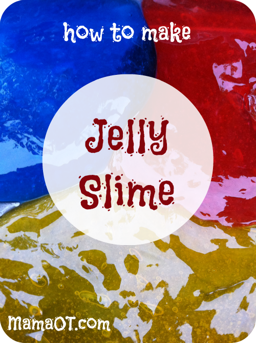 How To Make Jelly Slime Recipe