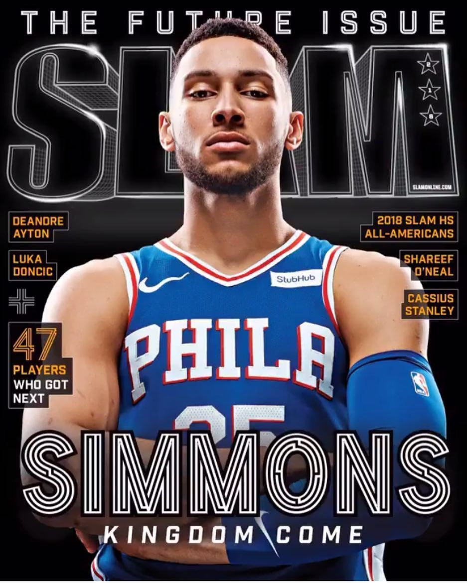 44b7f4196 Ben Simmons on the new Slam magazine cover lets go cant wait to get this   slamonline  bensimmons  sixers  trusttheprocess  philaunite