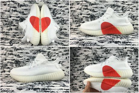 2018 Spring Summer Adidas Yeezy 350 V2 Valentines Day Love Limit