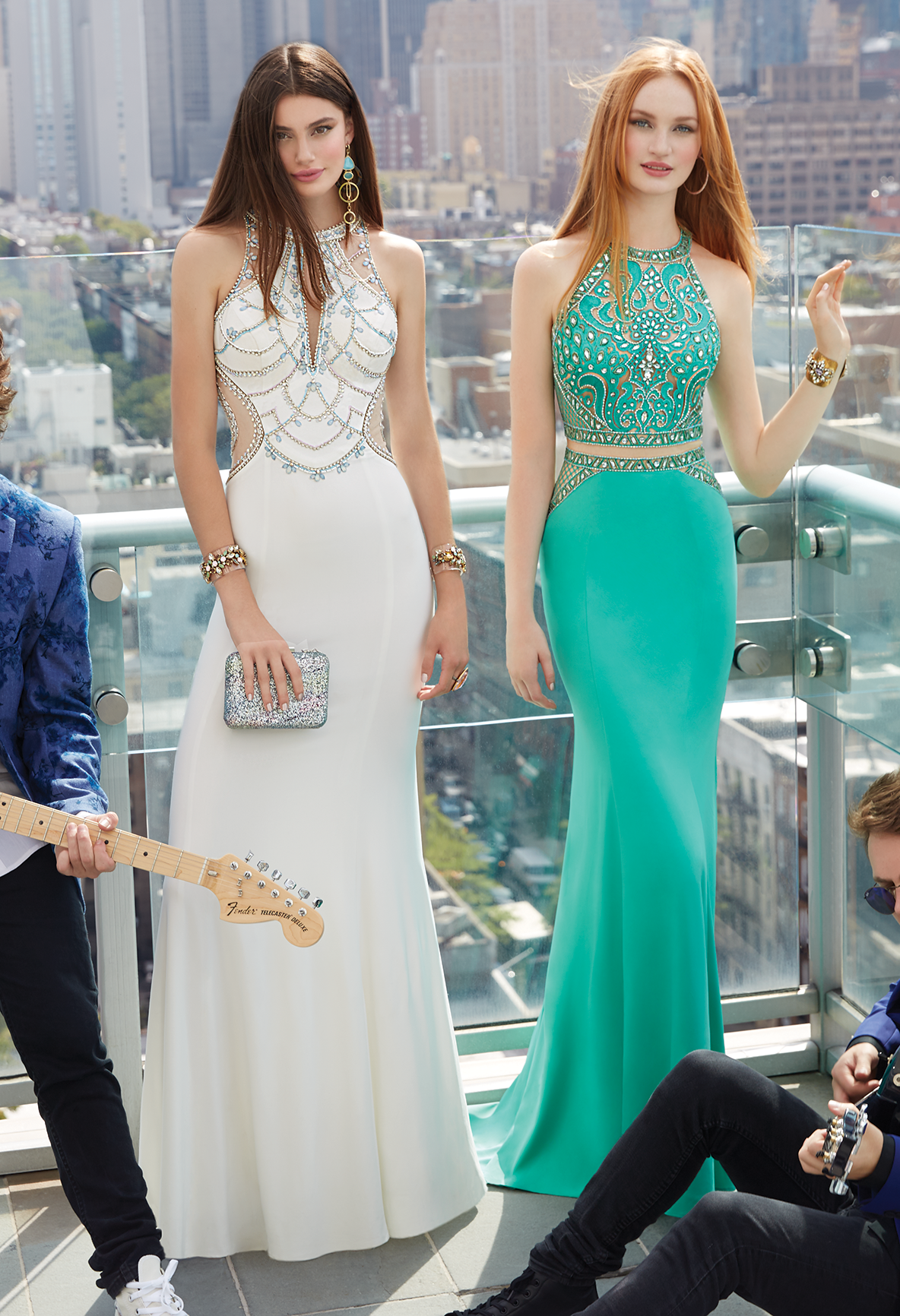Take it to the top with this extravagant evening gown! A flawless ...
