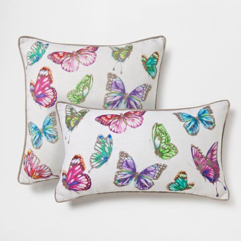 Printed Linen Cushion - Decorative Pillows - Decor and pillows | Zara Home United States