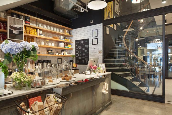 Haven S Kitchen Store And Restaurant By Turett Collaborative Architects New York City Restaurantes Cafeteria Interiores