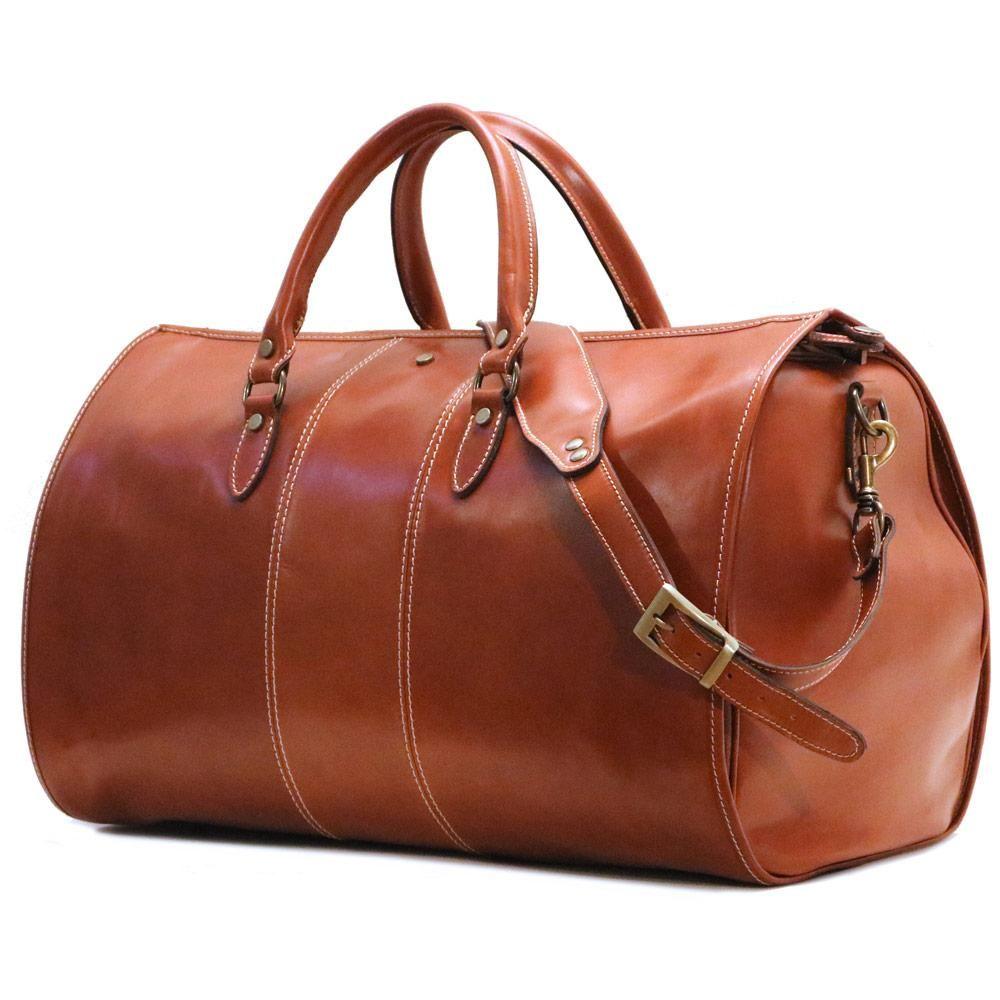 b73aa5789b8c Venezia Garment Duffle in Tempesti Leather | Lagerfeld | Leather ...