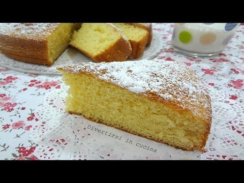 Torta soffice al latte caldo,RICETTA PERFETTA - YouTube