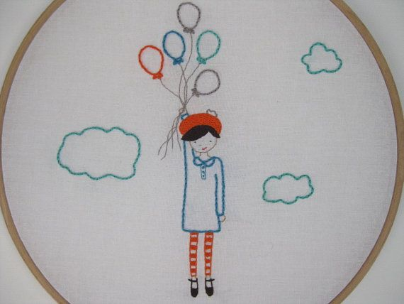 Belle embroidery PATTERN by comfortstitching on Etsy | Must