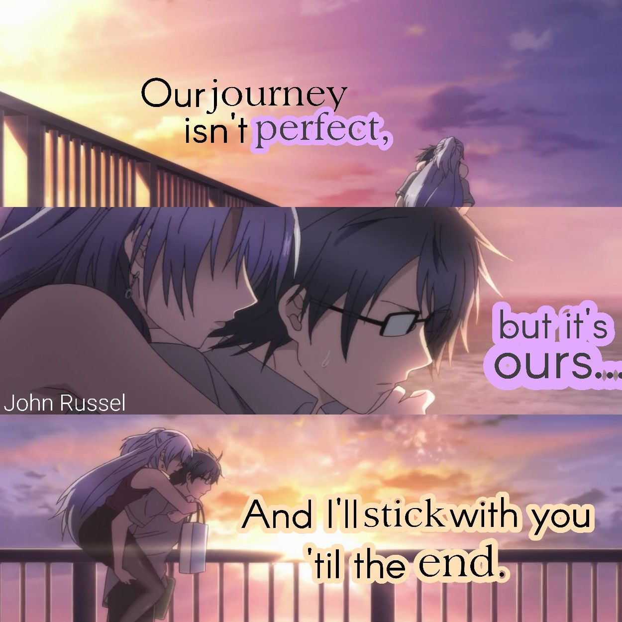 Love Quotes With Anime