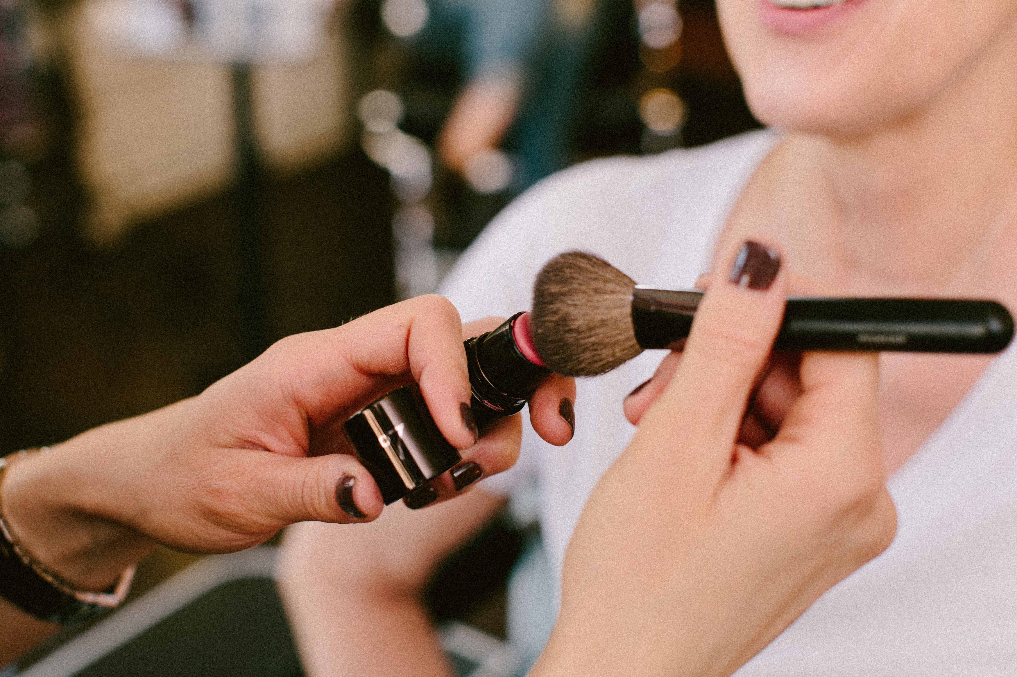 Crème blush got you stumped? Try applying it with a brush