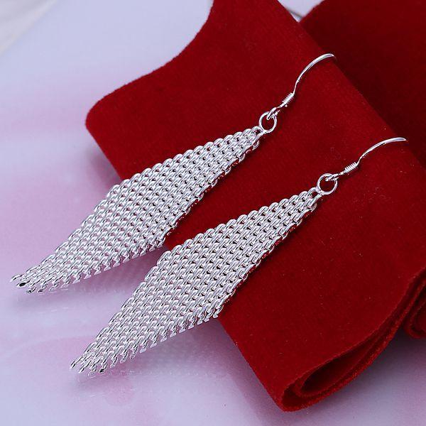 925 보석 실버 도금 귀걸이, 925-sterling-silver 패션 보석, 사다리 귀걸이 e061/cfpakwwa dwxamoea LKNSPCE061